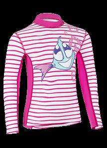 Kinder Langarmshirt 'sweet siri striped magli/magli' mit UPF 80 von Hyphen