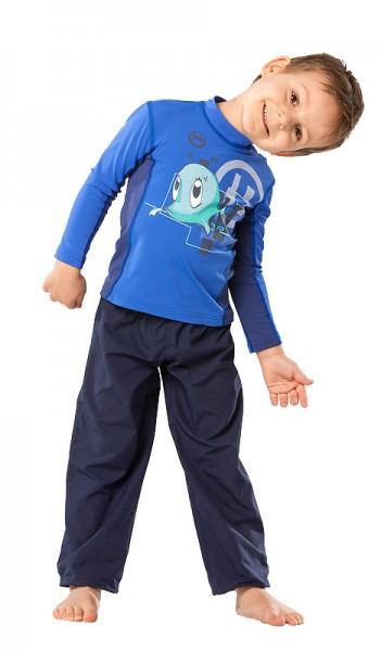 UV Sonnenschutz Hosen 'deep sea' für Kinder mit UPF 80 von hyphen