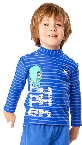 Sonnenschutz Langarmshirt Shirt 'ocy'nor striped cobalt' mit UPF 80 für Kinder von hyphen
