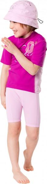 UV Sonnenschutz Shorts 'cameo rose' für Kinder mit UPF 80 von hyphen