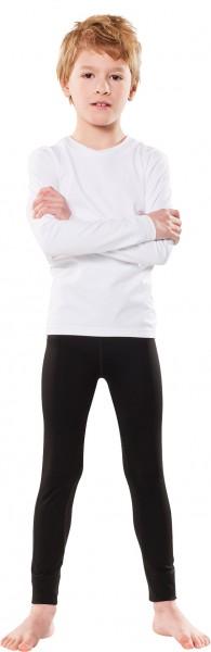 UV Kinder-Leggins schwarz' Knöchellange Hose in der Farbe schwarz. UPF 80, UV Standart 801