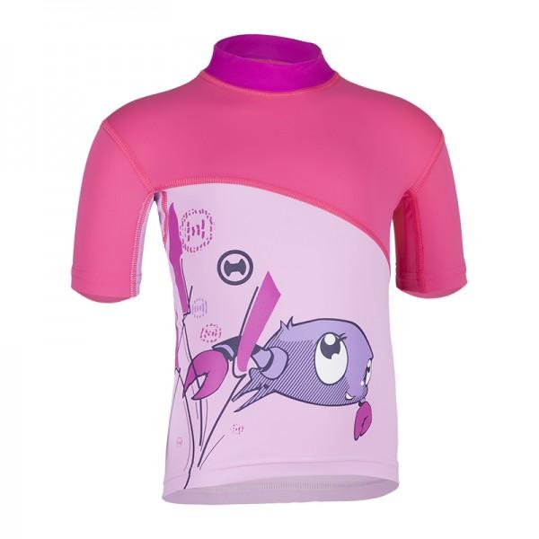 UV Sonnenschutz Kurzarmshirt 'ike coqé phlox' für Kinder mit UPF 80 von hyphen
