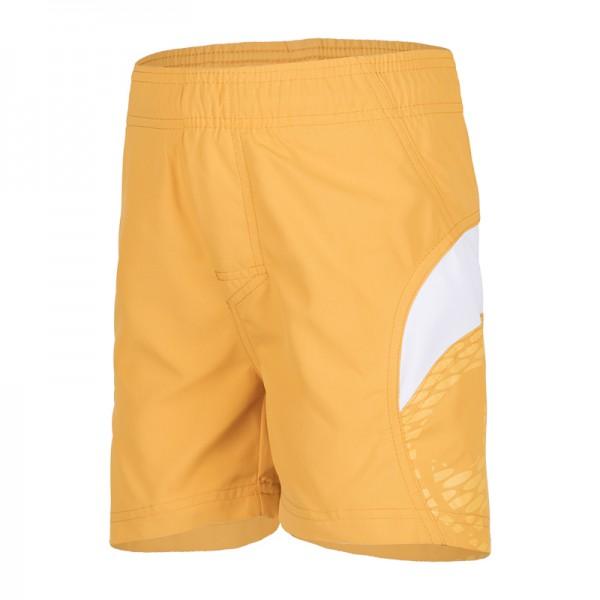 UV Sonnenschutz kurze Kinder Shorts 'orange, weiss' für Kinder mit UPF 80 von hyphen in diversen Grössen