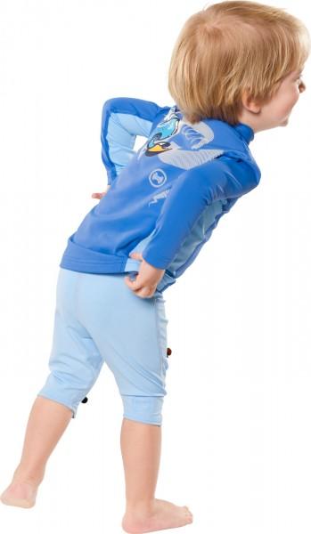UV Sonnenschutz Hosen 'pid blue' für Kinder mit UPF 80 von hyphen