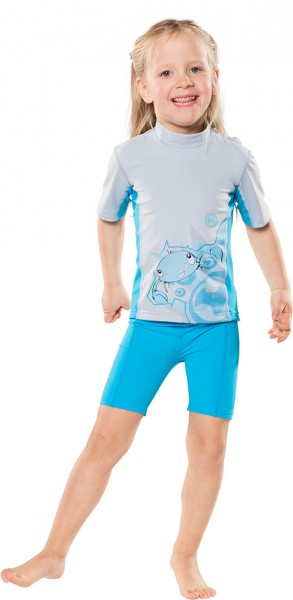 UV Sonnenschutz Shorts 'azurito' für Kinder mit UPF 80 von hyphen