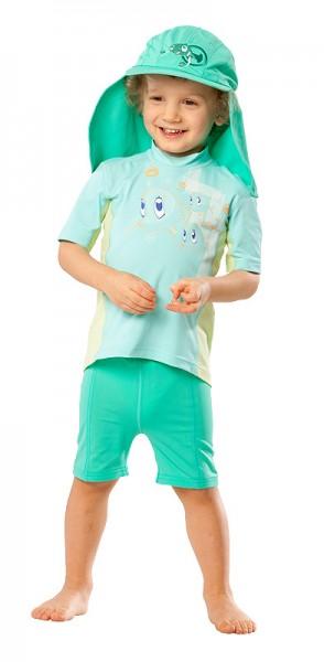 UV Sonnenschutz Shorts 'bermuda' für Kinder mit UPF 80 von hyphen