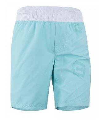 UV Sonnenschutz kurze Kinder Shorts 'white/caribic' für Kinder mit UPF 80 von hyphen in diversen Grössen