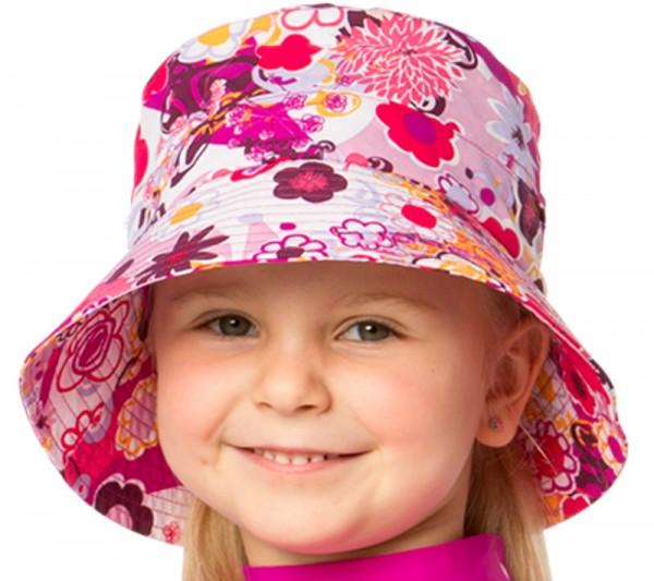 UV  Sonnenhut 'flowers' für Kinder mit UPF 80 Grösse 46-48 von hyphen