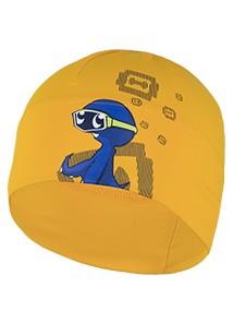 Mütze 'Beanie' oca's dive tangerine für Kleinkinder UPF 80 nach UV Standard 801 von Hyphen