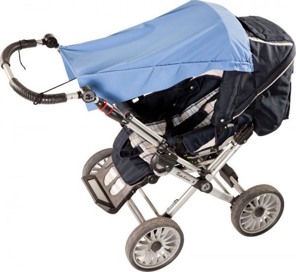 UV Kinderwagen Sonnenschutz-Segel 'kobalt' mit UPF 80 Marke hyphen