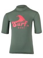 Kurzarmshirt 'tuvu iguana' mit UPF 80 von hyphen