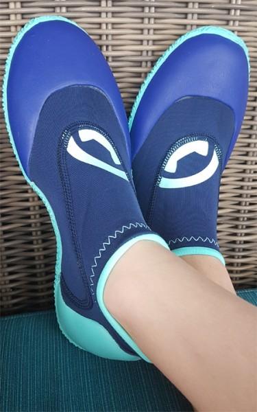 Neopren Schuhe 'blue iris' von Hyphen