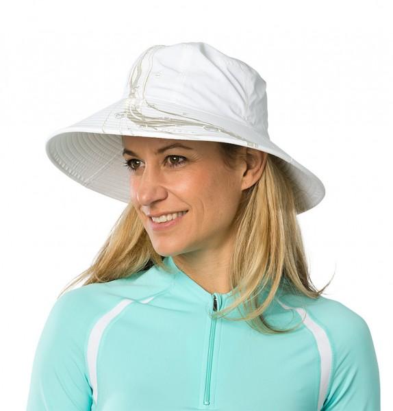 UV  Sonnenhut 'white' für Frauen mit UPF 80 Grösse 54-56 von hyphen