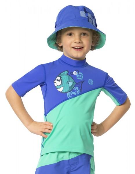 UV Sonnenschutz Kurzarmshirt 'ichito für Kinder mit UPF 80 von hyphen