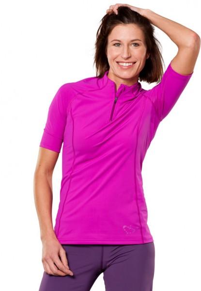 UV Sonnenschutz Kurzarmshirt 'shiffy baton rouge' 51110 für Frauen mit UPF 80 von hyphen