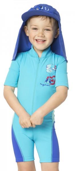 UV Sonnenschutz Shorty 'turli azurito' für Kinder mit UPF 80 Marke hyphen