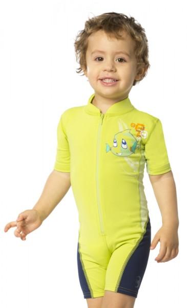 UV Sonnenschutz Shorty 'hey snups wild lime' für Kinder mit UPF 80 von hyphen