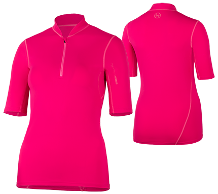 UV Sonnenschutz Kurzarmshirt 'satao azao' für Frauenmit UPF 80 von hyphen