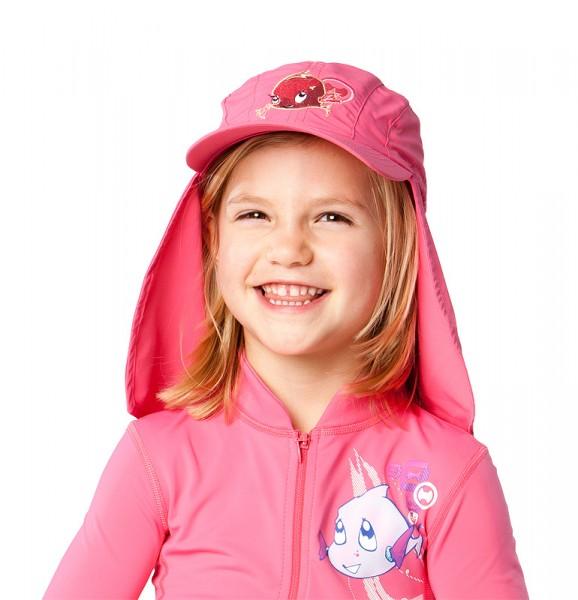 UV  Sonnenhut 'phlox' für Kinder mit UPF 80 Grösse 50-52 von hyphen