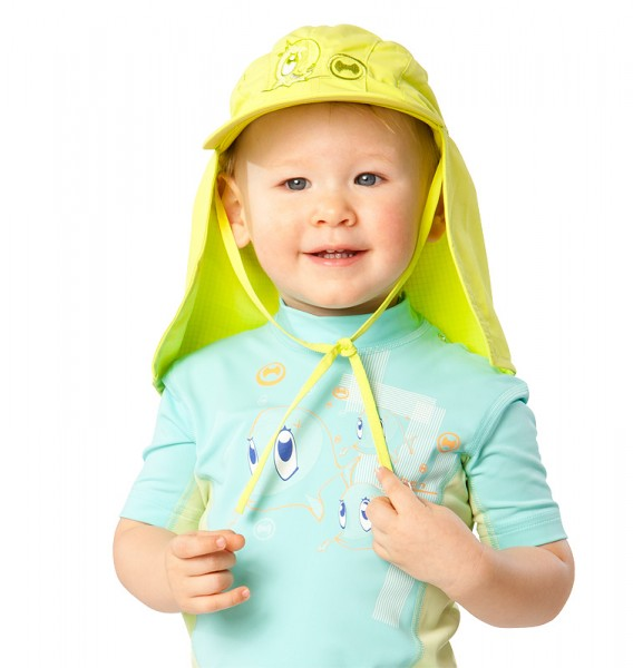 UV Sonnenhut 'apple' für Kinder mit UPF 80 Grösse 42-44 von hyphen