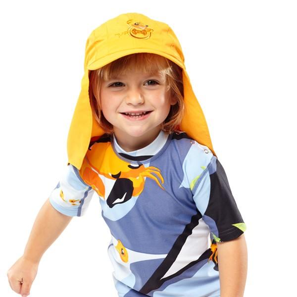 UV Sonnenhut 'zynyeo' für Kinder mit UPF 80 Grösse 42-44 von hyphen