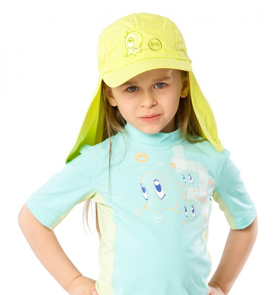UV  Sonnenhut 'apple' für Kinder mit UPF 80 Grösse 46-48 von hyphen