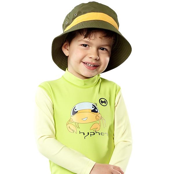UV  Sonnenhut 'follow me jungle' für Kinder mit UPF 80 Grösse 46-48 von hyphen