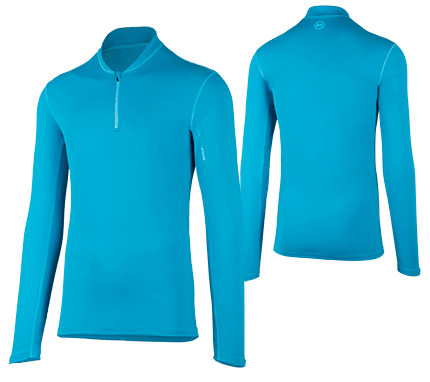 UV Sonnenschutz Langarmshirt 'satao capri'  für Herren mit UPF 80 von hyphen