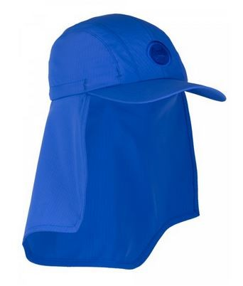 UV  Sonnenhut 'cobalt' für Kinder mit UPF 80 Grösse 50-52 von hyphen
