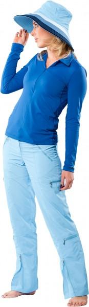 UV Sonnenschutz Langarmshirt 'blue steel' 50482 für Frauen mit UPF 80 von hyphen