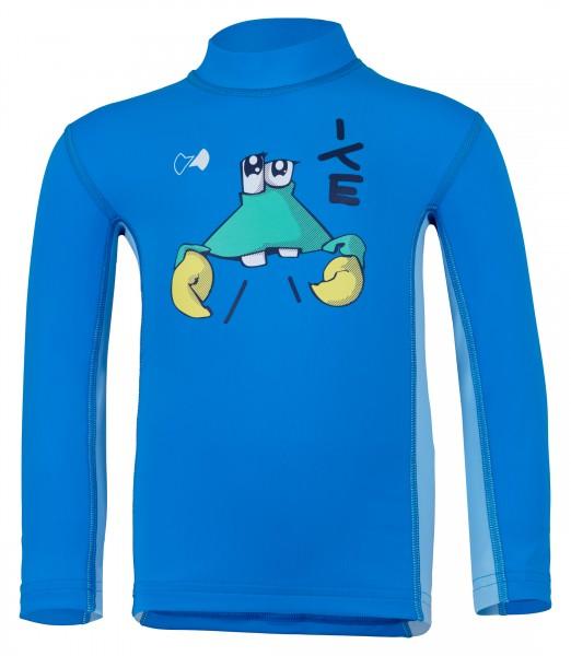 Kinder Langarmshirt 'ike cielo / pid blue' mit UPF 80 von Hyphen