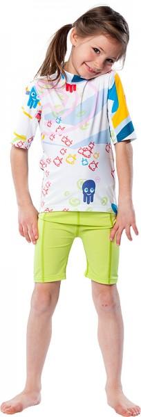 UV Sonnenschutz Shorts 'apple' für Kinder mit UPF 80 von hyphen