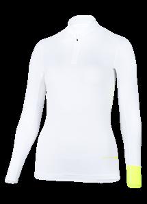 FRAUEN Langarmshirt 'koro white'