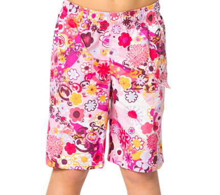 Kinder Badeshorts 'flowers'