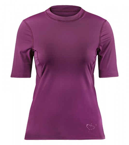 UV Sonnenschutz Kurzarmshirt 'shiffy burundi' für Frauen mit UPF 80 Marke hyphen