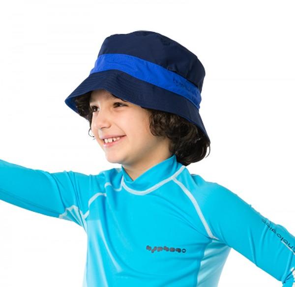 UV  Sonnenhut 'deep sea' für Kinder mit UPF 80 Grösse 50-52 von hyphen