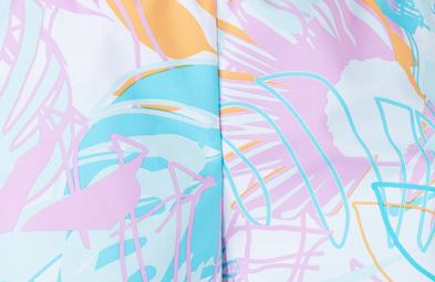 UV Sonnenschutz Stoff, Farbe jungle UPF 80, UV Standard 801, zum selber verarbeiten, Marke hyphen