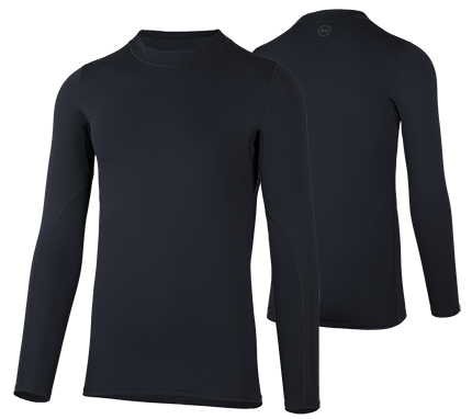 HERREN Shellshirt 'schwarz'