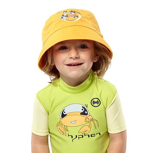 UV  Sonnenhut 'mango' für Kinder mit UPF 80 Grösse 46-48 von hyphen