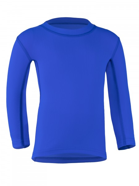 Kinder Langarmshirt 'cobalt' mit UPF 80 von Hyphen