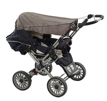 UV Kinderwagen Sonnenschutz-Segel 'macchiato' mit UPF 80 Marke hyphen