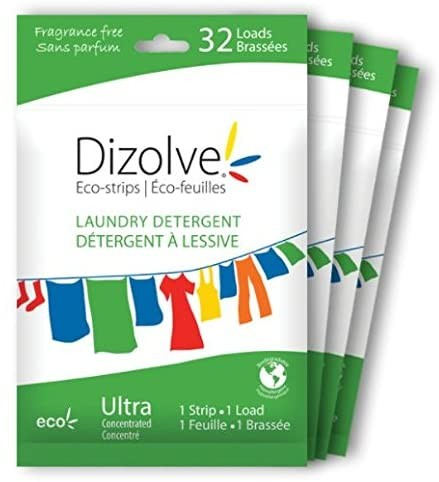 Dizolve Waschmittel-Powerstreifen - Ohne Frischeduft