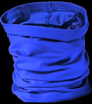Schlauchtuch'cobalt  mit UPF 80 Marke hyphen