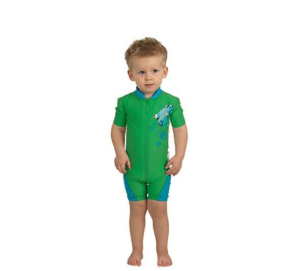 UV Sonnenschutz Shorty 'ike' algreen für Kinder mit UPF 80 von hyphen