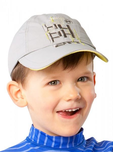 UV  Sonnenhut 'paloma' für Kinder mit UPF 80 Grösse 46/48 von hyphen in der Farbe taubengrau