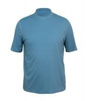 UV Sonnenschutz Herren Kurzarmshirt 'pebble grey'mit UPF 80 von hyphen