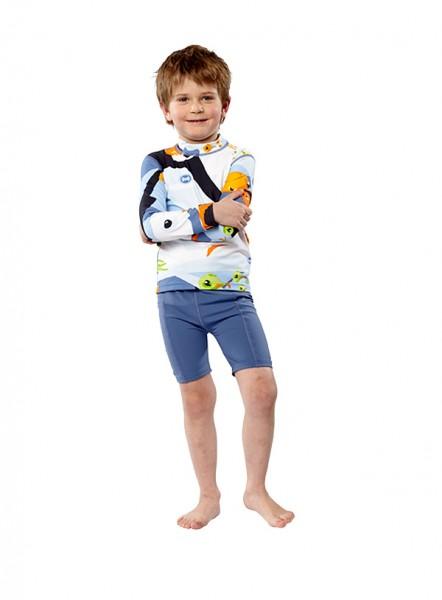 UV Sonnenschutz Shorts 'zaffira blue' für Kinder mit UPF 80 von hyphen