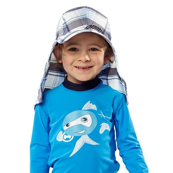 UV  Sonnenhut 'kinneli' für Kinder mit UPF 80 Grösse 42-44 von hyphen