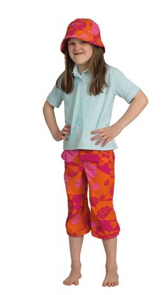 UV Sonnenschutz Hosen 3/4 'candyflower'' für Kinder mit UPF 80 von hyphen i