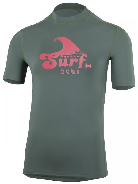 UV Sonnenschutz Herren Kurzarmshirt'tuvu' iguana' mit UPF 80 von hyphen